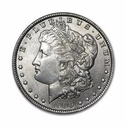 1900-S $1 Morgan Silver Dollar VG
