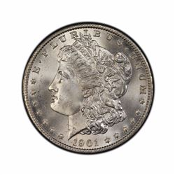 1901-O $1 Morgan Silver Dollar AU