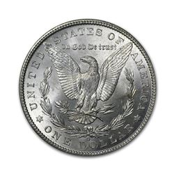 1902-O $1 Morgan Silver Dollar AU