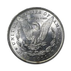 1881 $1 Morgan Silver Dollar AU