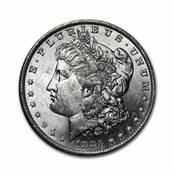 1883 $1 Morgan Silver Dollar AU