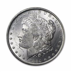 1884-O $1 Morgan Silver Dollar AU