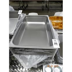 "12 - Full Size by 4"" Insert Pans - 12 Times the Money"