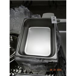 "12 - 1/2 Size by 4"" Insert Pans - 12 Times the Money"