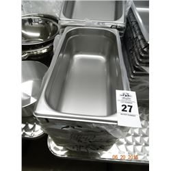 "12 - 1/3 Size by 4"" Insert Pans - 12 Times the Money"