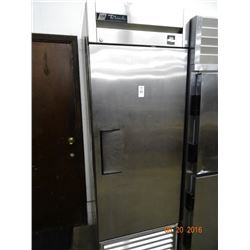 True S/S Single Door Refrigerated Reach-In Tested to 48deg