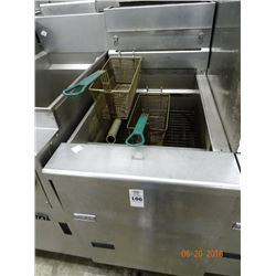 Pitco Large Capacity Gas Deep Fryer