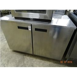 Delfield 2-Door S/S Refrigerated Worktop - Tested to 37deg