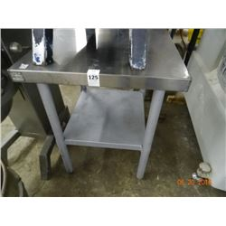 S/S 2' x 2' Equipment Stand