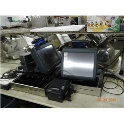 Micros POS System w/Printer & Scales (Flash Drives in Office)
