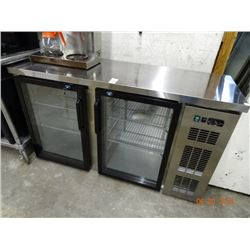Commercial Refrigerated Bottle Merchandiser - New - Small Dent