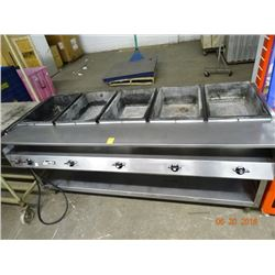 5-Comp Electric Steam Table