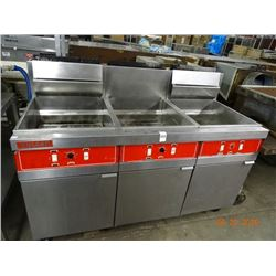 Vulcan Gas Triple Large Capacity Deep Fryer