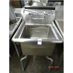 "S/S Single 18"" Pot Sink"