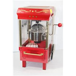 time popcorn machine
