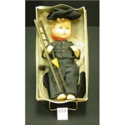 HUMMEL Doll  Felix  Chimney Sweep IOB