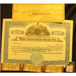 "1959 dated Check from ""Baker Bottling Company, Inc. Bottlers of Double Cola, Squirt, Hires, Canada D"