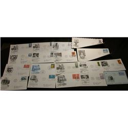 Group of (35) mostly United Nations First Day of Issue Stamped covers dating 1955 to 1967; & 1909 P,