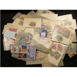 Large group of U.S. and Foreign Postage Stamps dating back into the 1800's. All most all are cancell