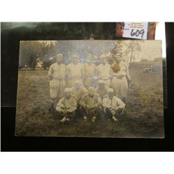 Rare 1920-1930 Photograph of Hampton, Iowa Baseball Team.