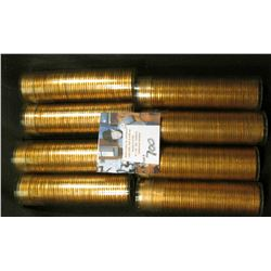 (8) 1960 D Large Date Solid date Rolls of Uncirculated Lincoln Cents in plastic tubes, I have not op