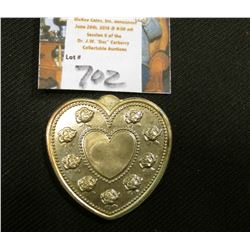 """Especially For You .999 Fine Silver One Troy Ounce"", heart-shaped, rose designs."