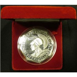 "Replica of ""Panama-Pacific Exposition San Francisco"" Proof Struck in 5 Troy Ounces of .999 Fine Silv"
