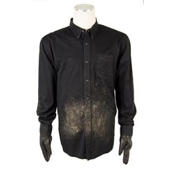 Aaron Rapaport (Seth Rogen) Distressed Palace Field Shirt & Gloves from The Interview