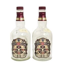 Aaron Rapaport (Seth Rogen) Pair of Chivas Regal Bottles from The Interview