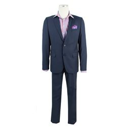 Dave Skylark (James Franco) Hero Interview Announcement Hugo Boss Suit from The Interview