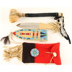Lot of 3 Native American Items