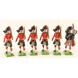 Britains Black Watch Highlanders