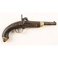 French Model 1822 Percussion Pistol .69 Cal
