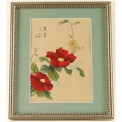 Chinese Poppies Print