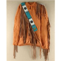 Sculpted Paper Art of Plains Indian Coat