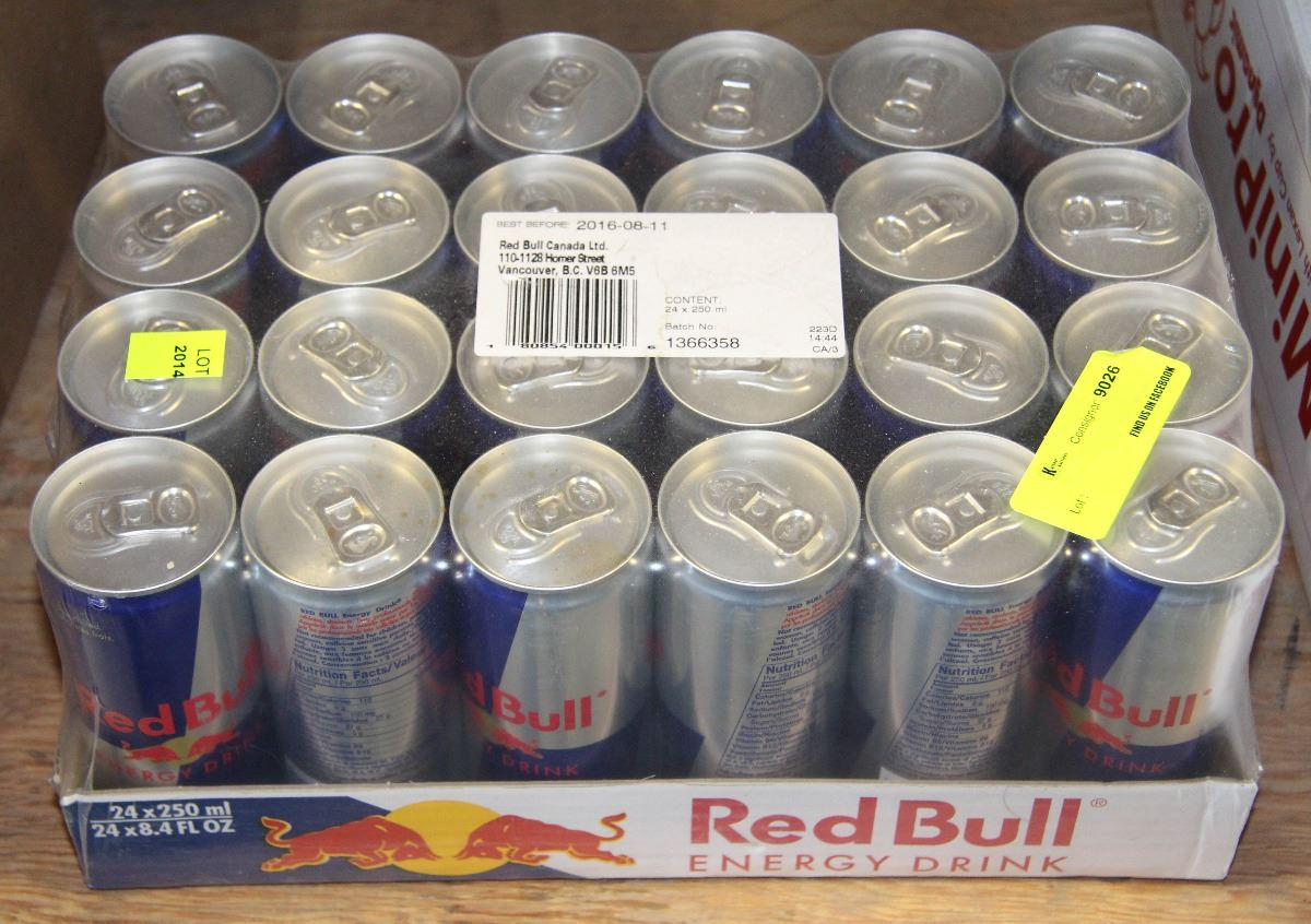 case of 24 250ml cans of red bull. Black Bedroom Furniture Sets. Home Design Ideas