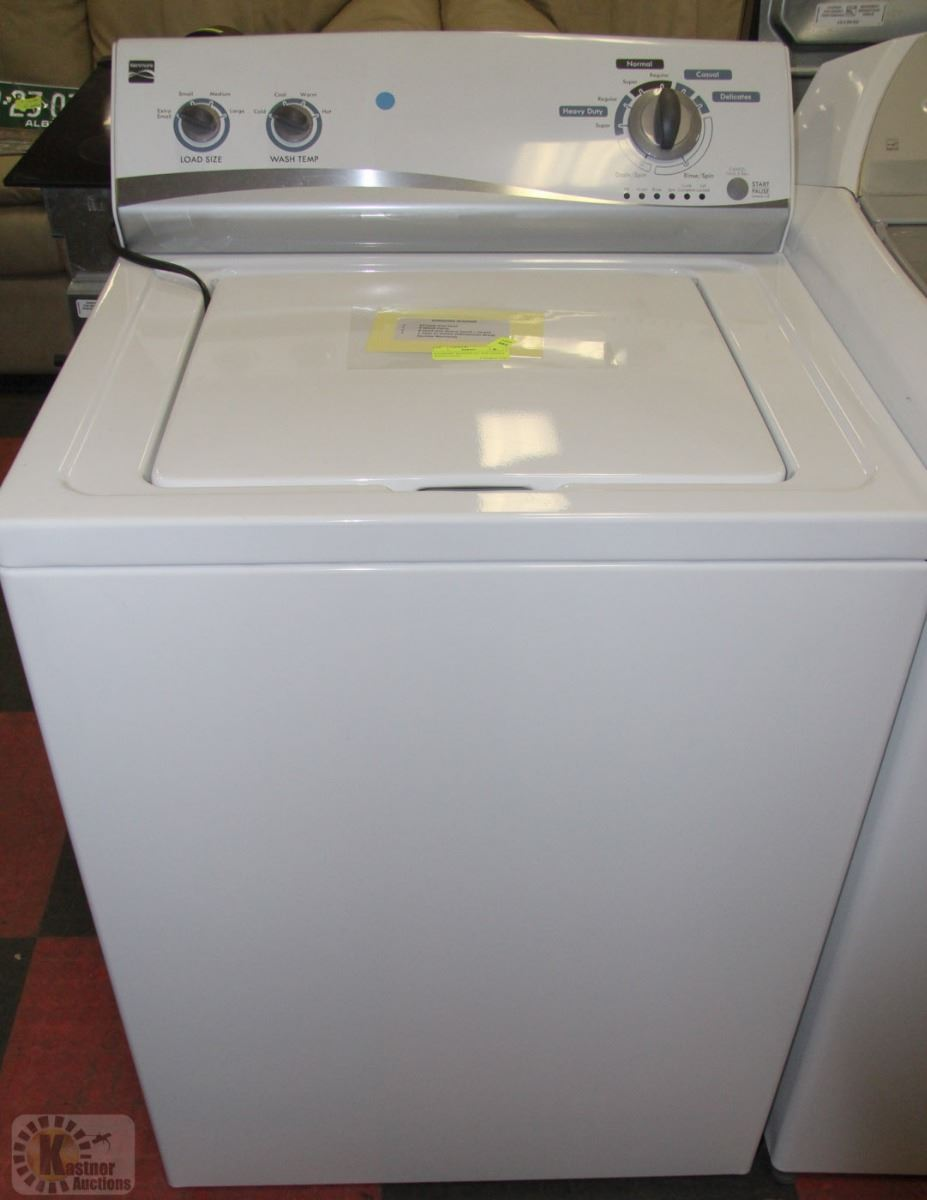 Kenmore Washer 27 Top Load 4 Wash Cycle