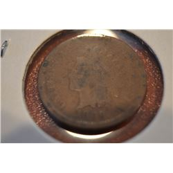 1869 Indian Head Penny