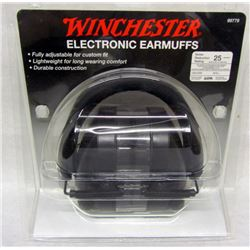 WINCHESTER EAR MUFFS AND KEYCHAINS