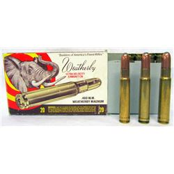 11 RDS 460 WEATHERBY AMMO