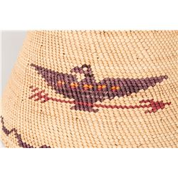 "Nootka/Makah Basketry Shaman Hat, 10"" x 9"""