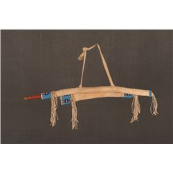 Lakota Sioux Beaded Boy's Bowcase, Bow and Quiver