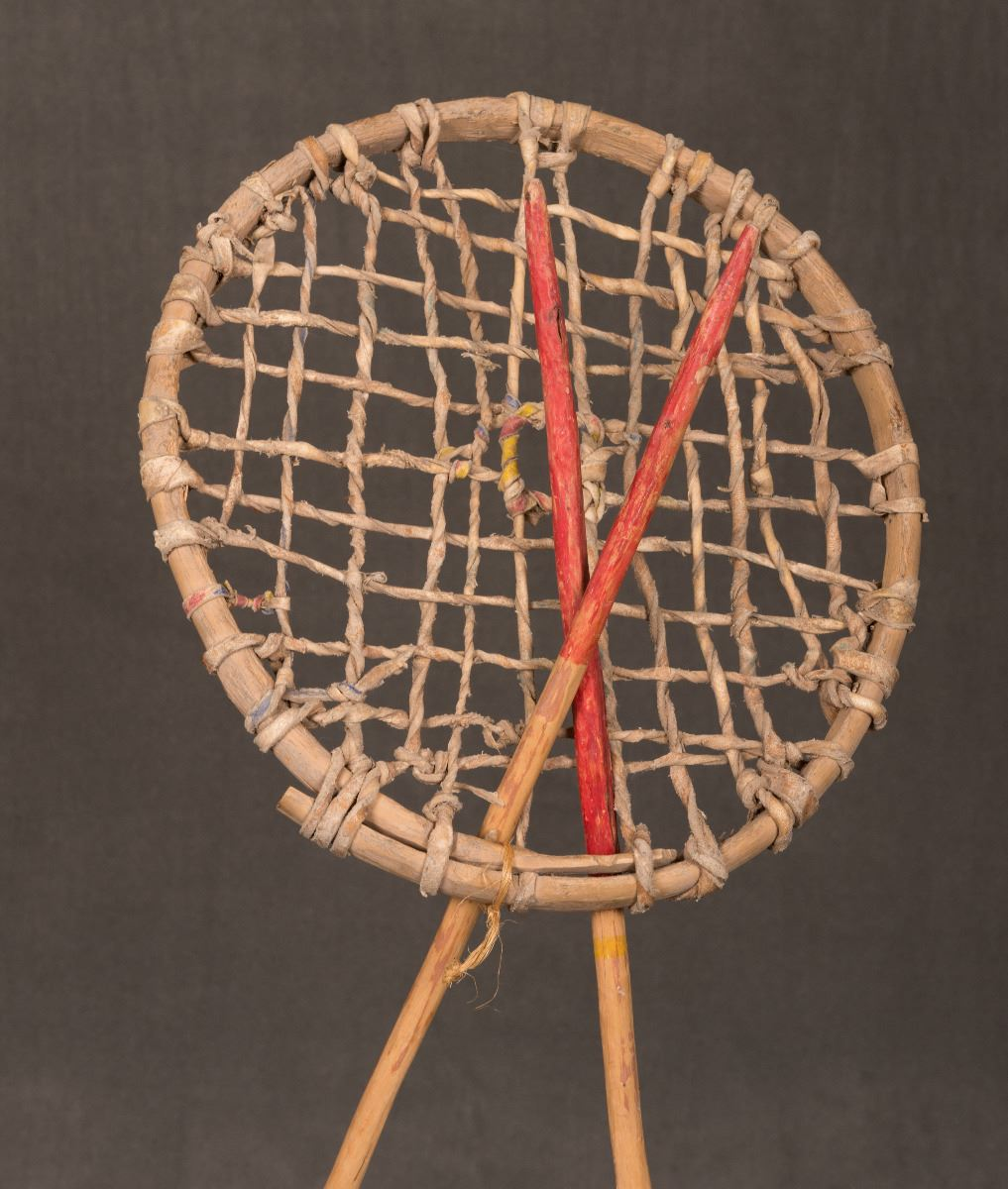 Cheyenne hoop game for Cheyenne tribe arts and crafts