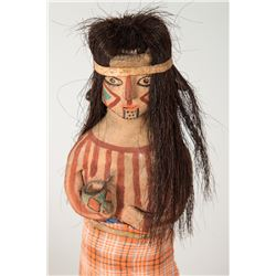 "Mojave Clay Doll Figure, 8"" tall"