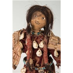 "Blackfeet Doll, 10"" tall"
