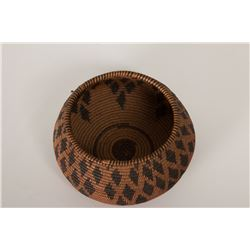 "Yokuts Basketry Bowl, 2 ¾"" x 5 ¾"""