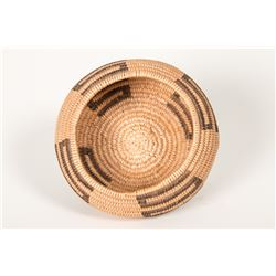 "Havasupai Coiled Basket 2"" x 3 ¾"". Finely woven. Circa 1940."