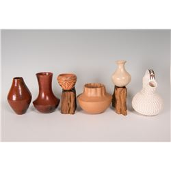 6 Pottery Pieces