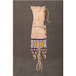 Sioux Beaded Tab-Style Pipebag, 19""