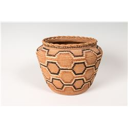 "Salish Basket, 7 ½"" x 10"""